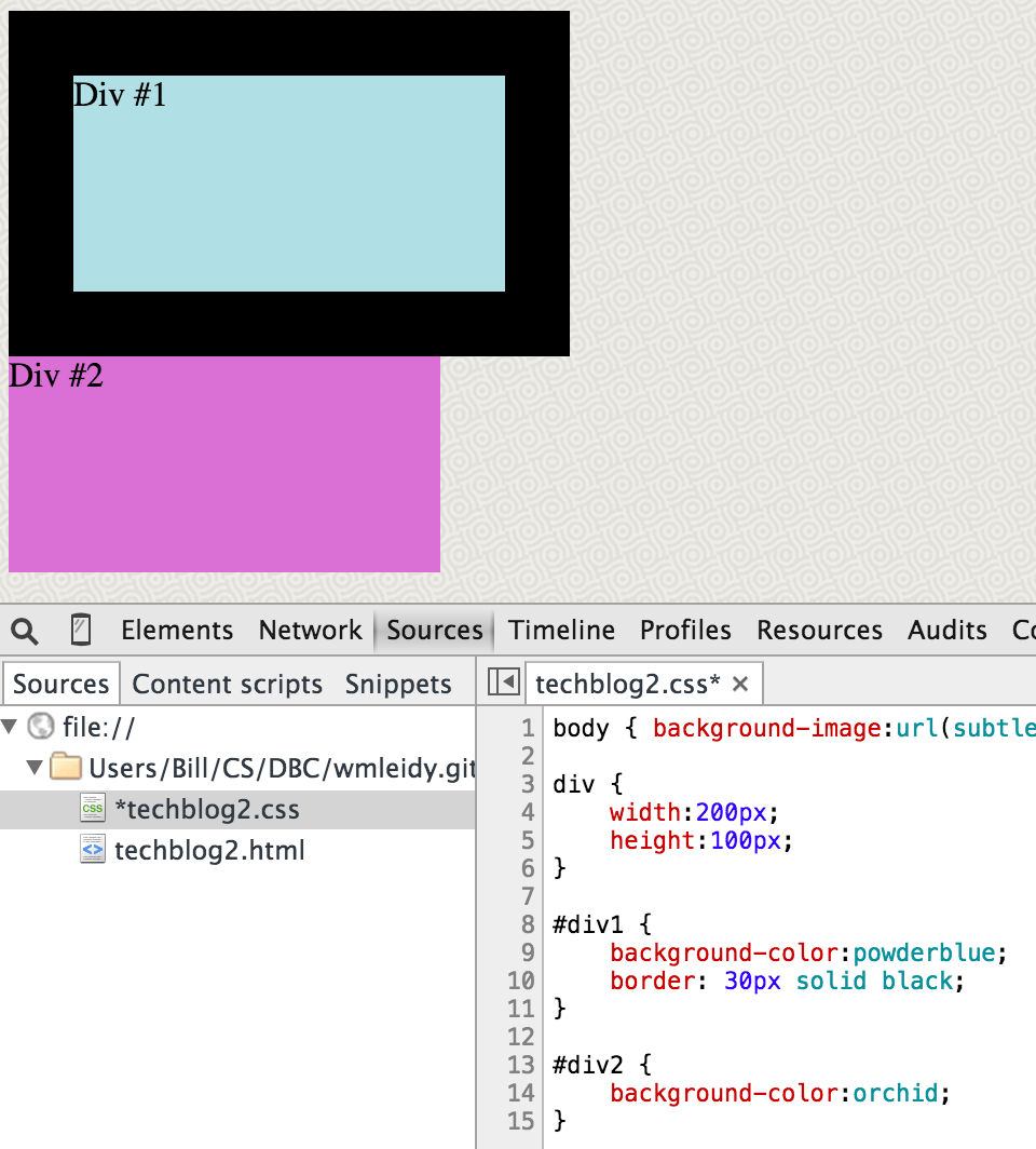 2 background images in one div css - It S Also Possible To Choose One Of Several Patterns For The Border Style As This Quite Questionable Combination Of Colors Shows